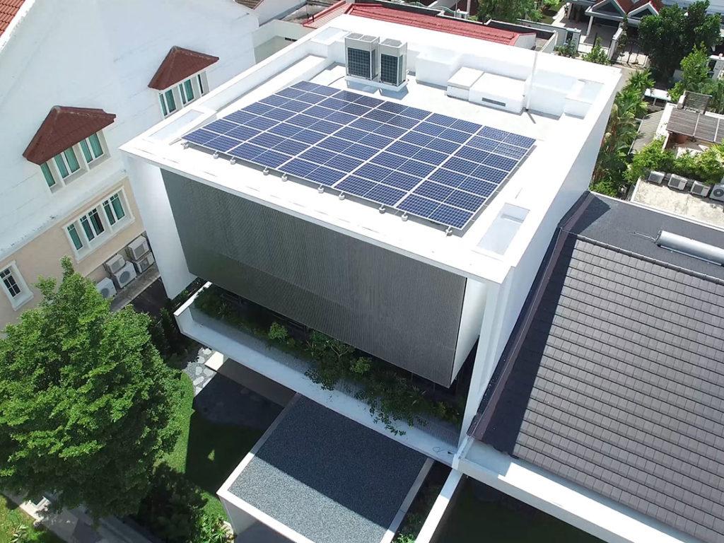 East Coast Ave solar home