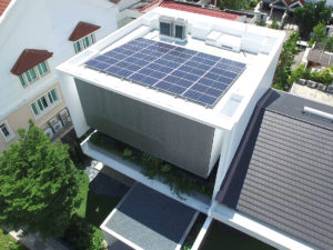 East Coast Ave solar home